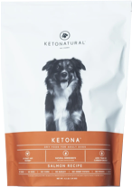 Bag of Ketona Kibble - Salmon Flavor